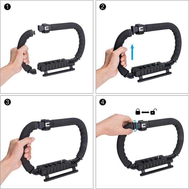 Fantaseal Hydra Stabilizer For DSLR, Action Camera, Camcorder Phone - DealsnLots