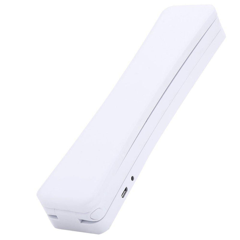 Foldable USB Rechargeable Desk Lamp 1.5W 120LM Eye-protection 17 LEDs Table Lamp - (White)