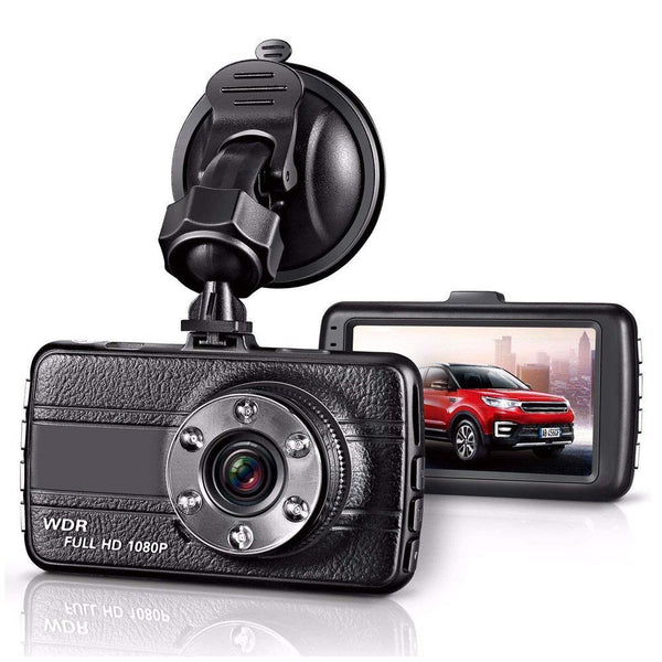CAR Blackbox Full HD 1080P Mini Dash Cam, Car DVR Dashboard Camera HD Tachograph - (Black)