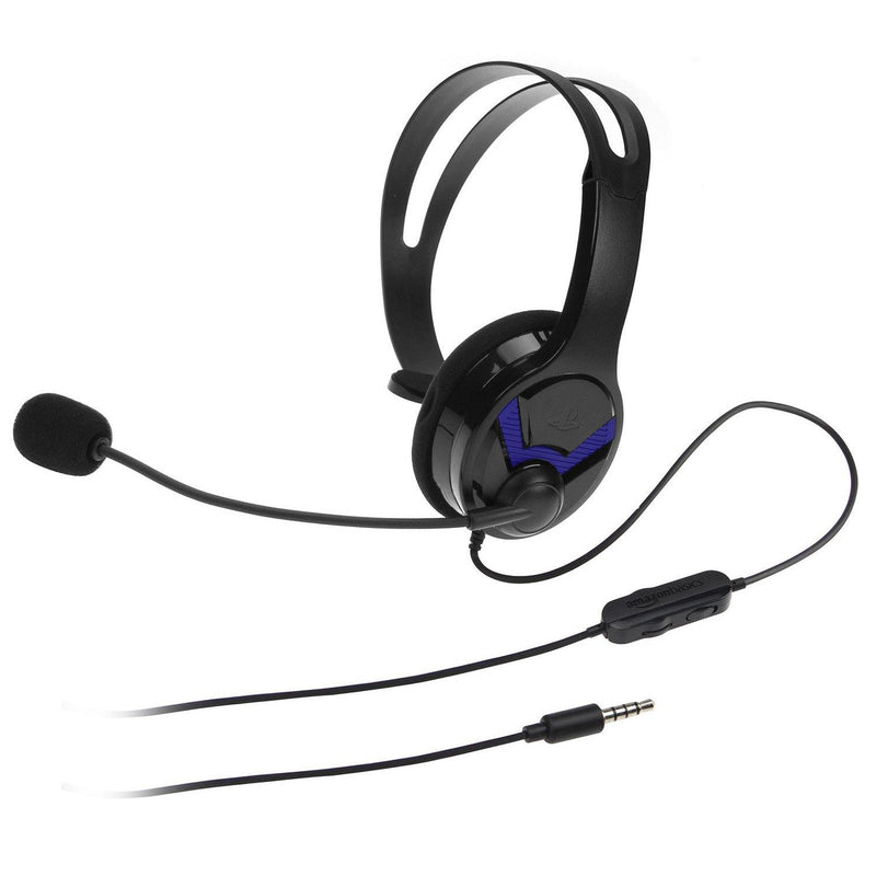 Gaming Chat Headset for PlayStation 4 with Microphone - Model: EPS-4014 (Black)
