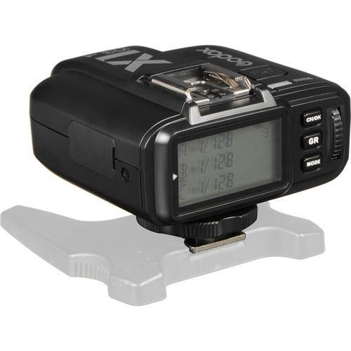 Godox E-TTL Wireless LCD Flash Transmitter for Canon Camera Model::X1T-C (Black)