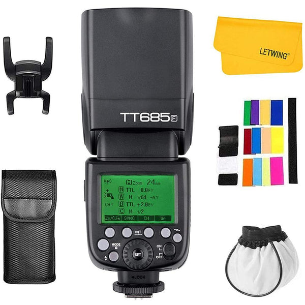 Godox TT685F 2.4GHz High Speed 1/8000s Camera Flash for Fujifilm Camera X-Pro2 X-T20 X-T1 X-T2 X-Pro1 X100F,GODOX X1T-F - DealsnLots
