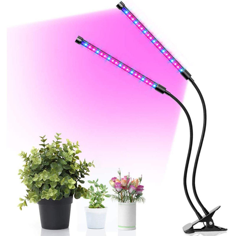 Govee 18W LED Grow Light, Grow Lamp, 3 Dimmable Modes, Red/Blue Spectrum- Model: H7016 (Black)