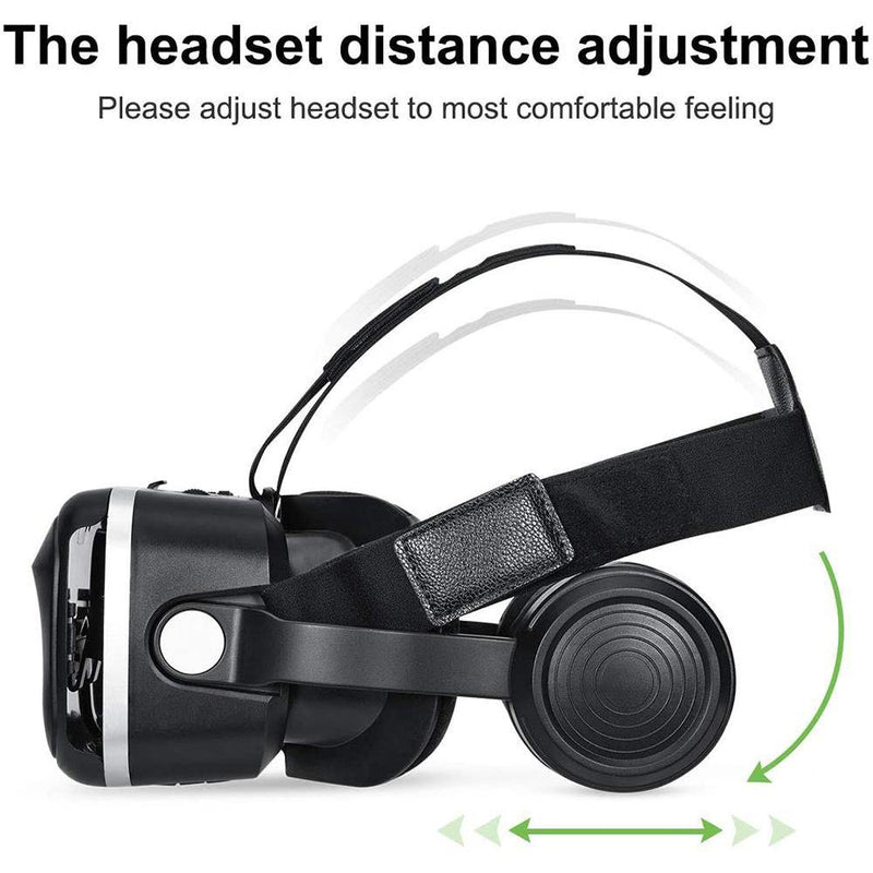 "HAMSWAN VR with Built-in Headphones - (4.7"" - 6.0"") - G04EA"