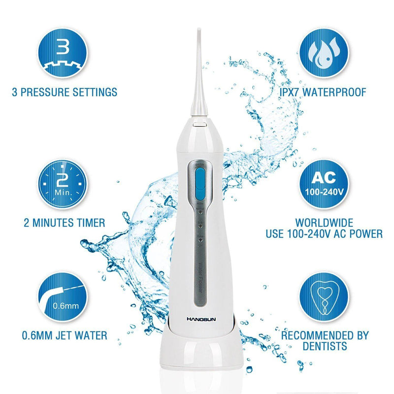 Hangsun WATER FLOSSER Model:HOC400 (White-Blue)