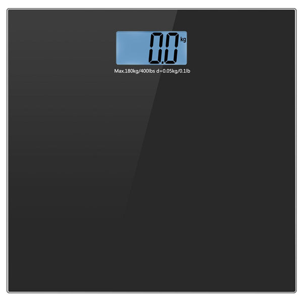 Helect H1010 Body Weight Scale 400LB/180KG (Black)