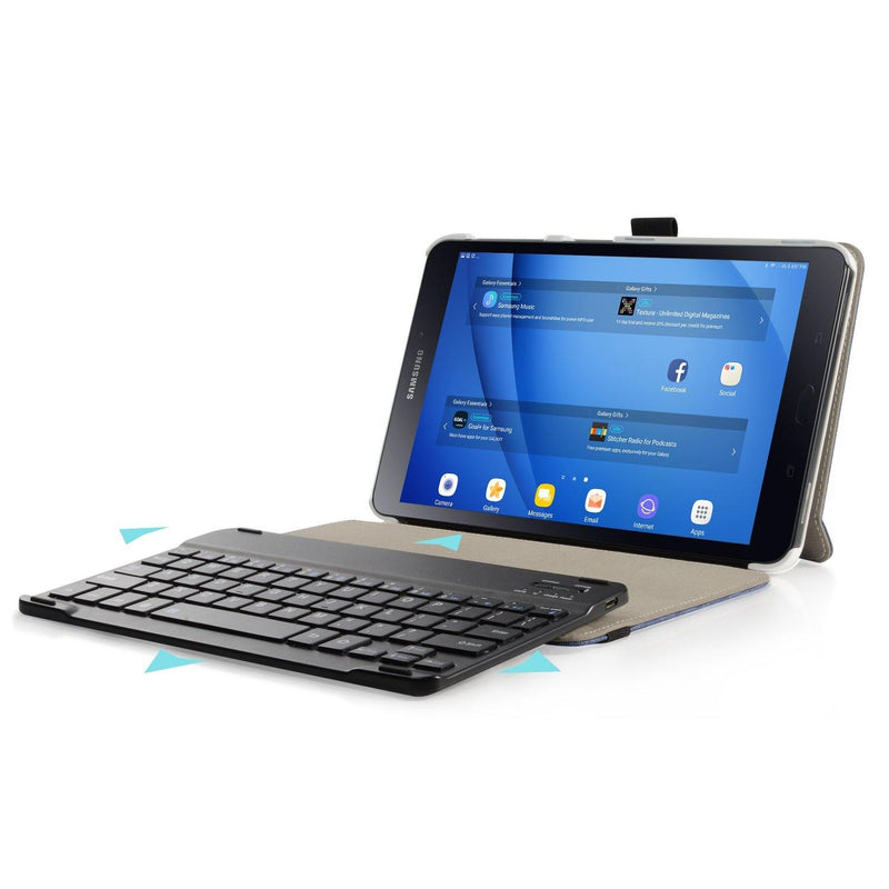 Infiland Case for Samsung Galaxy Tab 10.1 SM-T580N - T585N Tablet (Neay Blue)
