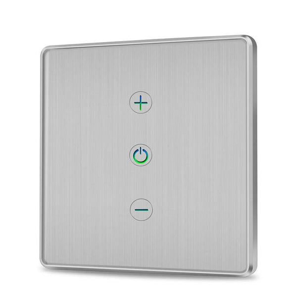 Innens WF-DS01 WiFi Smart Dimmer Switch 2.4Ghz 400W Toughened Glass Brushed 1 Way - DealsnLots