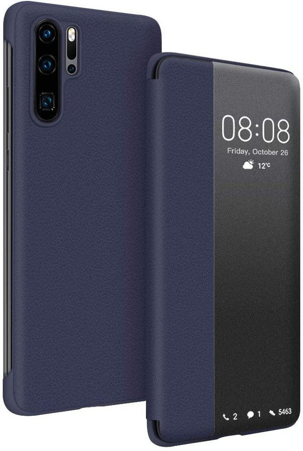 JASBON Leather Flip Case for Huawei P30 Pro