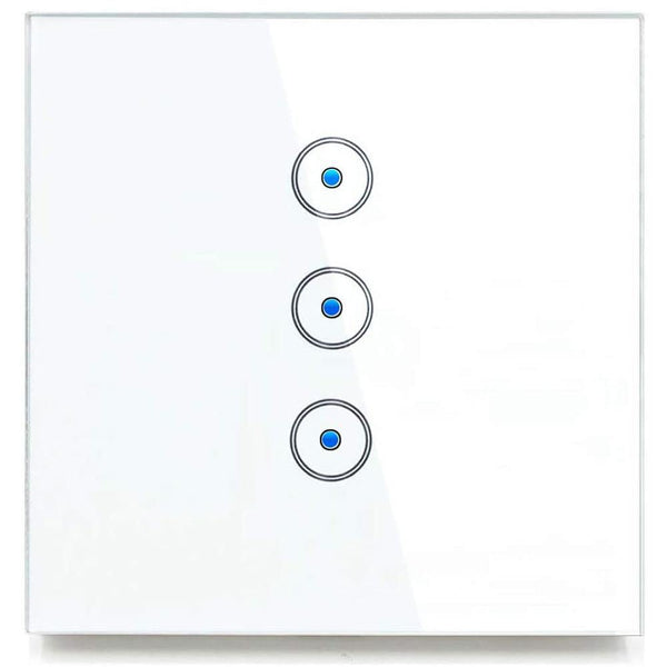 Jinvoo SM-SW103C Smart WiFi Light Switch 200W (3 Gang) [White] - DealsnLots