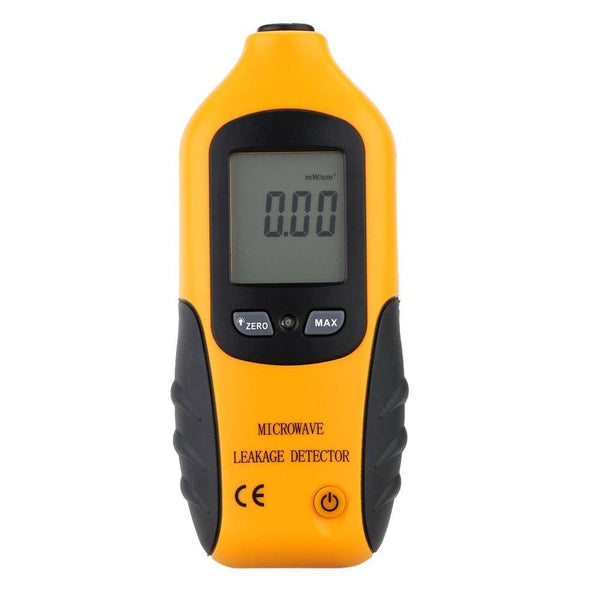 KKmoon Digital LCD Microwave Leakage Detector Meter Leaking Tester (Yellow-Black)