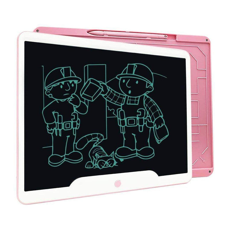 "JONZOO LCD Writing Tablet, 15"" Inches Electronic Digital Writing Pad - (Pink)"