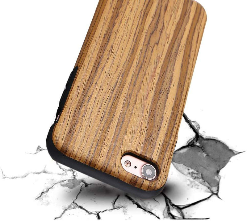 "LCHULLE Case For iPhone 6 Plus-6S Plus (5.5"") - (Teak Wood)"