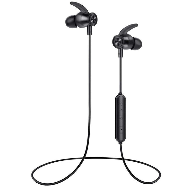 LETSCOM SP604 Bluetooth Headphones Built-in Mic  Black