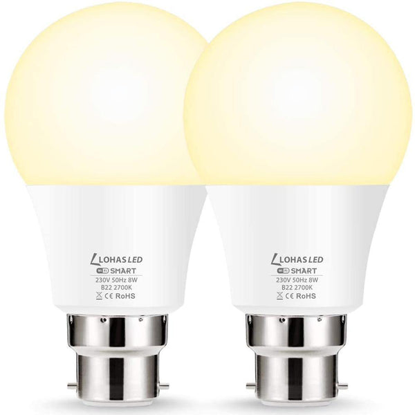LOHAS 8W B22  Smart Lamp  Warm White 2700K - DealsnLots