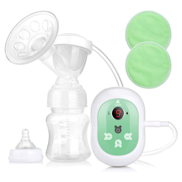 Lictin Electric Breast Pump LED Display 2 Modes and Adjustable 9 Levels - LS-AE5A