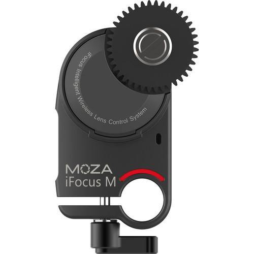 MOZA Focus Motor Air 2, AirCross 2 Gimbal Stabilizer Wireless DSLR Camera Lens Reach Focus & Zoom Control-Model: iFocus-M (Black)