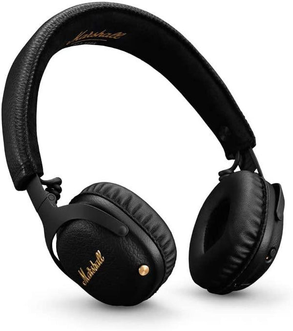 Marshall Mid ANC Active Noise Cancelling On-Ear Wireless Bluetooth Headphone (Black)