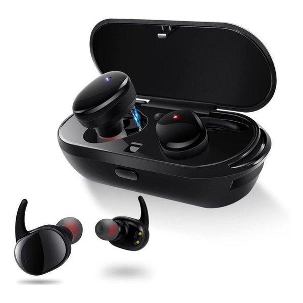 Meilunz Wireless Earbuds, Bluetooth 5.0 Wireless Touch Control Model:NB7 (Black)
