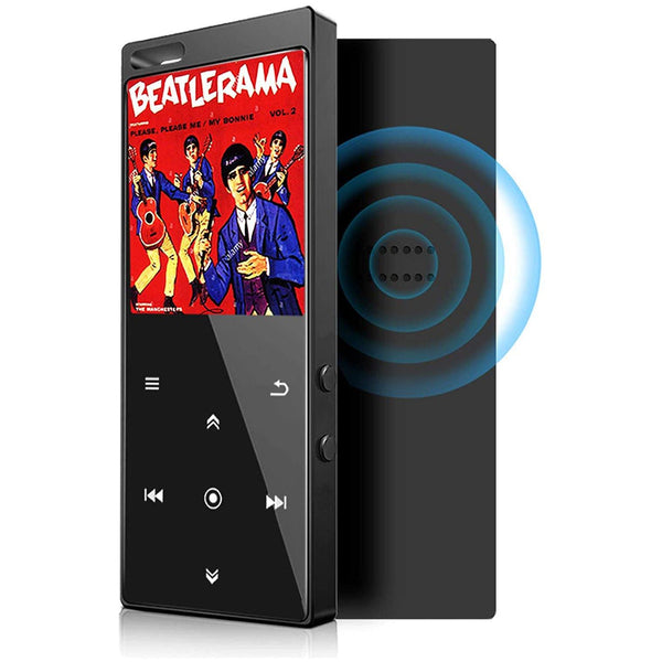 Mibao 16GB MP3 Player with Bluetooth 4.2 Digital Audio Portable Lossless Sound- Model: M400 (Black)