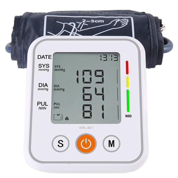 Microcomputer Intelligent KWL-B01 Upper Arm Blood Pressure Monitor - DealsnLots