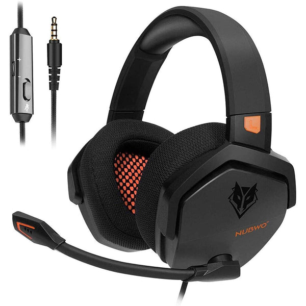 NUBWO Noise Canceling Gaming Headphones- Model: N16 (Black)