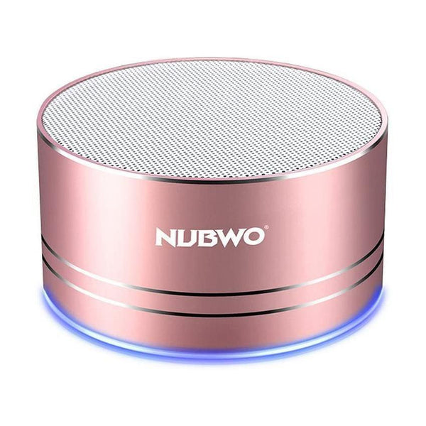 NUBWO Mini Wireless Bluetooth Speaker - (3W) - Model: A2pro - (Rose Gold) - DealsnLots