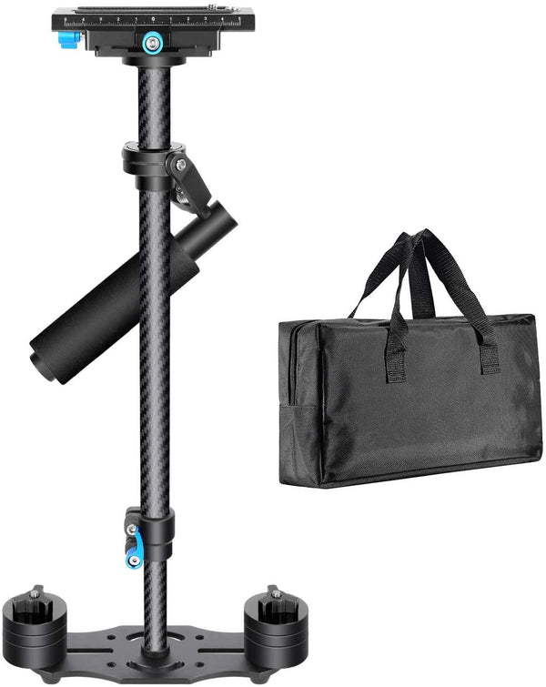 Neewer Carbon Fiber 24 inches/60 Centimeters Handheld Stabilizer (Black)