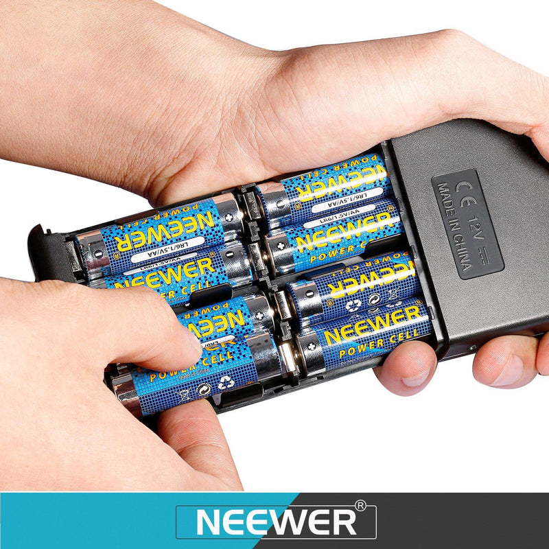 Neewer®External Flash Battery Pack for Canon Speedlite Flash Units (Black)