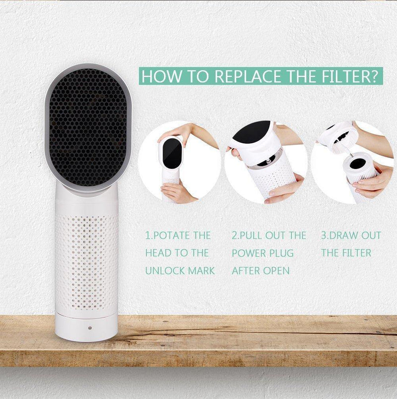 Net Beauty Air Purifier- F001 Room Desktop Air Cleaner Purifier.