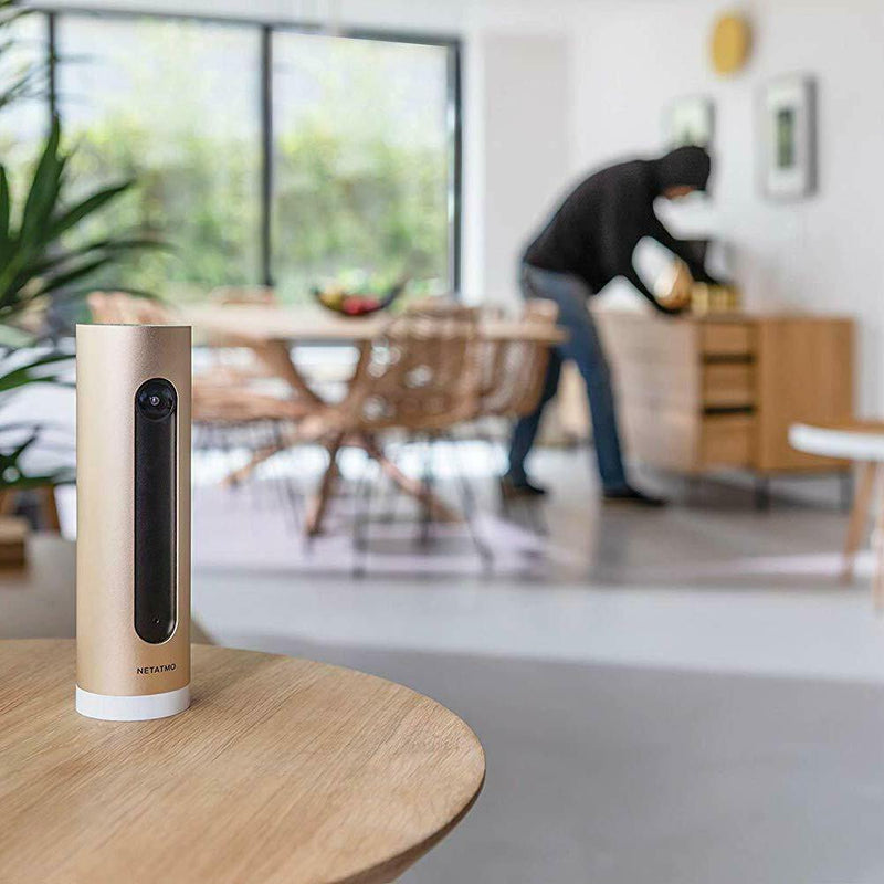 Netatmo Welcome Indoor Security Camera - (Gold)
