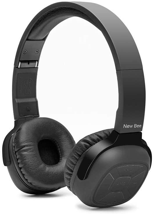 New Bee NB-6 HiFi Wireless Bluetooth Stereo Headphone With NFC : Black