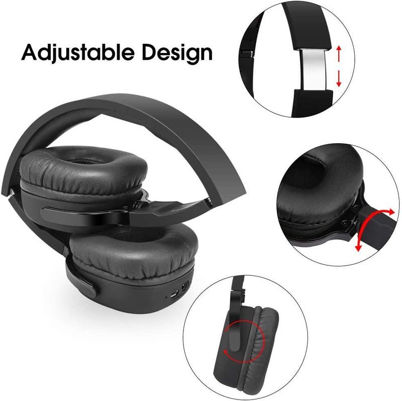 New Bee NB-6 HiFi Wireless Bluetooth Stereo Headphone With NFC : Black - DealsnLots