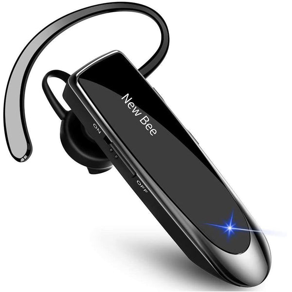 New bee Wireless Bluetooth 5.0 Earpiece Headset with Microphone- Model: LC-B41 (Black) - DealsnLots