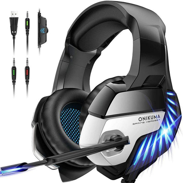 ONIKUMA K5 PRO Noise Cancelling Stereo Gaming Headphone