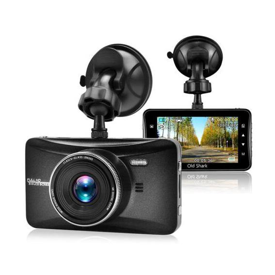 OldShark Dash Cam 1080P Full HD  Camera Car Recorder - (Black) - (SD Card Not Included)