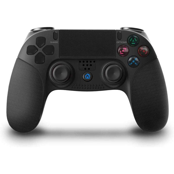 Wireless Controller, Bluetooth Joystick Game Controller with Headphone Jack for P4/P3 Model: 8951 (Black)