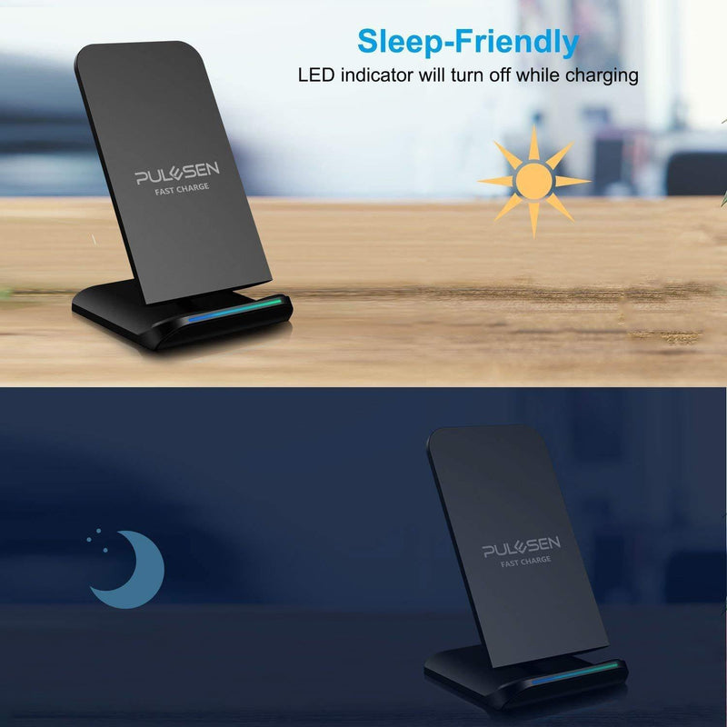 PULESEN Fast Wireless Charger Model:SC410 (Black)