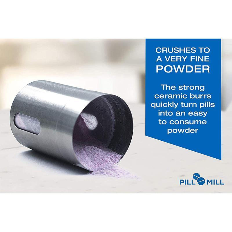 Pill Mill Metal Pill Grinder Crusher Multiple Tablets to a Fine Powder - DealsnLots