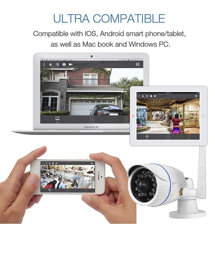 Proxelle ProxEye - 201 Smart WIFI Surveillance Camera (SD Card Not Included)