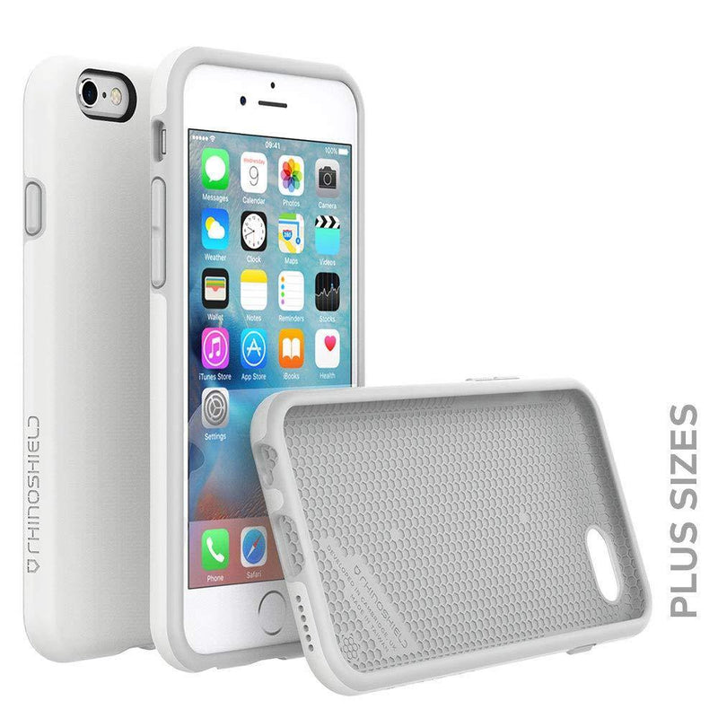 RhinoShield Case For Iphone 6-6s Plus [PlayProof]-(White)