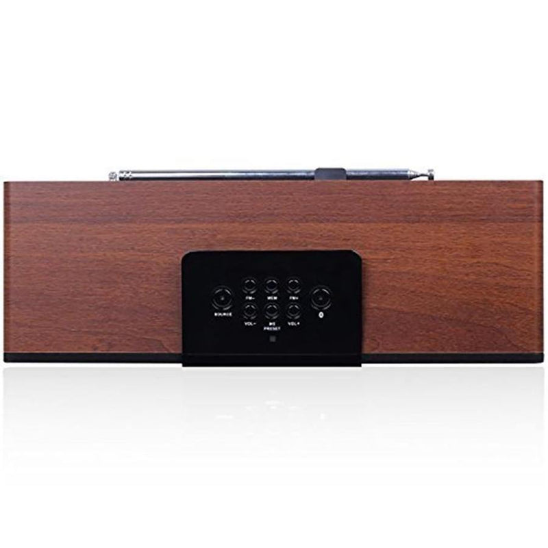 August Boombox Bluetooth Speakers With FM Radio Built in 2x15W Speaker - Model : SE50 - (Wood)