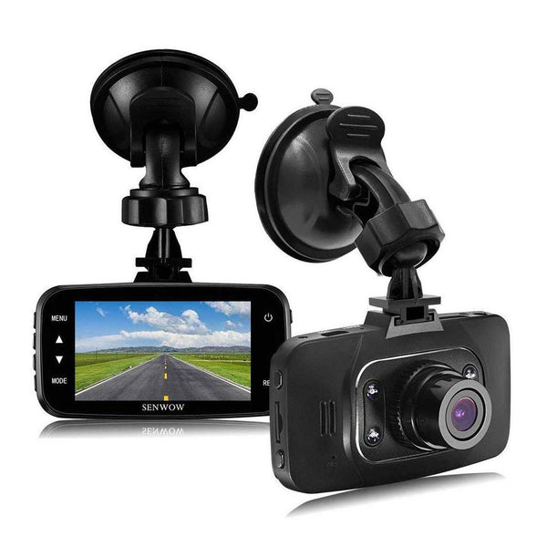 SENWOW High Defination Dash Cam 1080P Full HD Model:GB16496 (Black) - (SD Card Not Included)