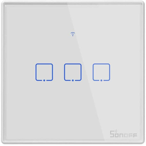 SONOFF T2UK2C WiFi Touch Wall Light Switches - DealsnLots