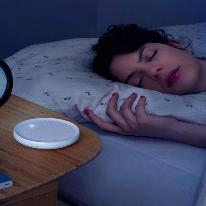 Dodow Sleep Aid Device, More Than 150.000 Users Are Falling Asleep Faster - White