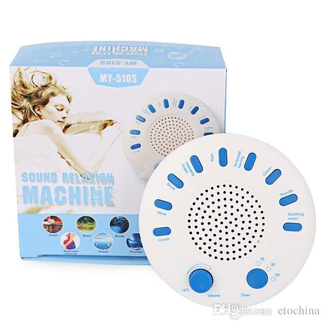 Sound Spa White Noise Relaxation Machine Premium Sleep Therapy Sound MachineModel:MY-510S (White)
