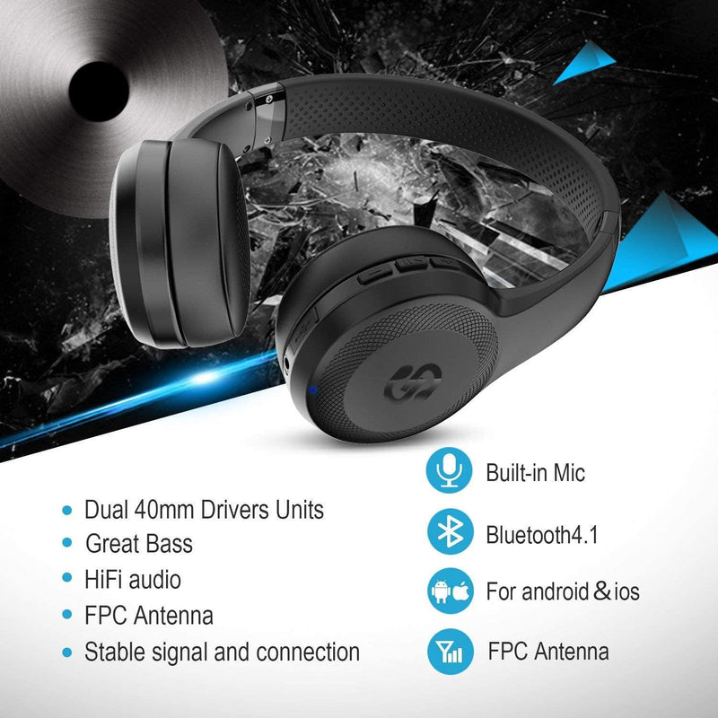 SoundPEATS A1 Pro Wireless Bluetooth Headphones with Mic-