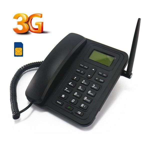 Sourcingbay Home Phone, Newest  3G Cordless Phone Model:M932 (Black)