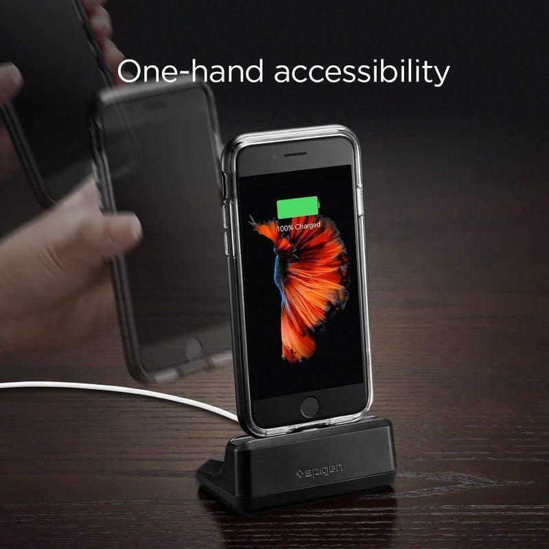 Spigen iPhone Stand, [Apple iPhone Stand] - (Black)