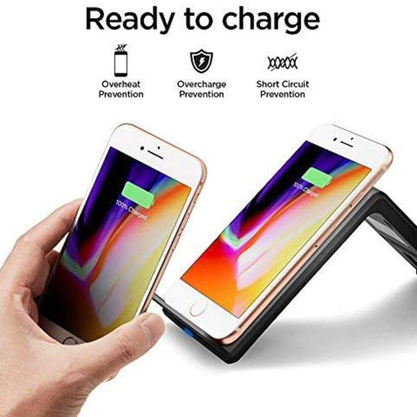 Spigen Wireless Charger Fast Qi Certified 10W Charging Stand F303W - DealsnLots